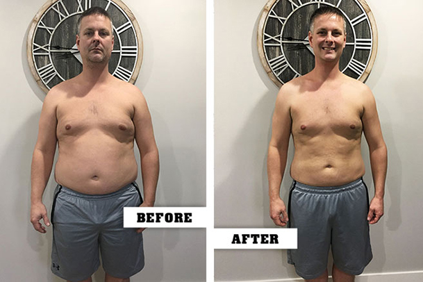 Fitness Before and After Craig Kornoelje