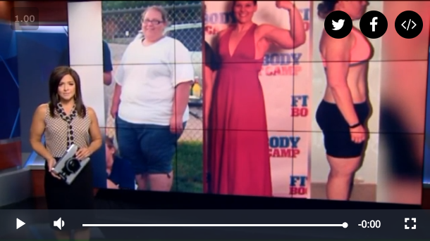 Lost Half Her Body Weight News Story